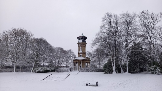 4 Tower in snow